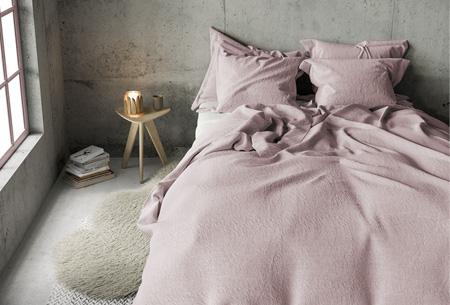 Pierre Cardin Stone Washed dekbedovertrek | Prachtige basic voor elke slaapkamer