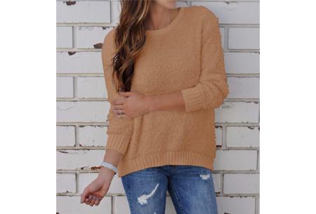 Sheep sweater | Zacht, warm en dé musthave van dit seizoen Khaki