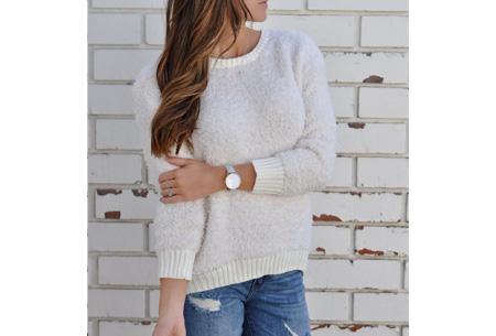 Sheep sweater | Zacht, warm en dé musthave van dit seizoen Wit