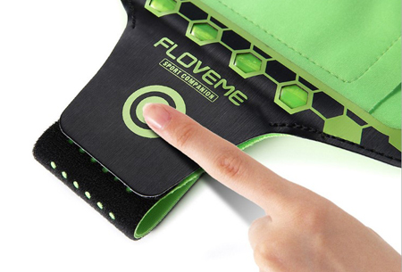 LED smartphone sportband | Veilig en zichtbaar in het donker