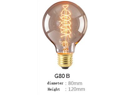 Retro hanglampen | Unieke sfeervolle lampen voor weinig!  G80 B