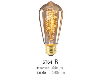 Retro hanglampen | Unieke sfeervolle lampen voor weinig!  ST64 B
