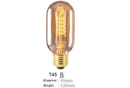 Retro hanglampen | Unieke sfeervolle lampen voor weinig!  T45B