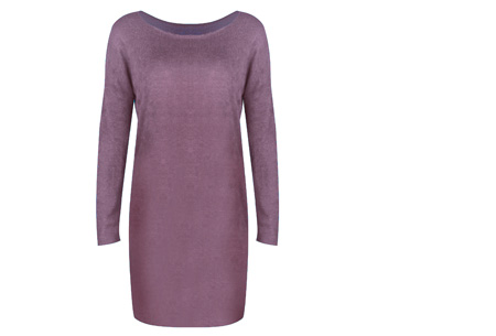 Stylish dress | Comfortabel en stijlvol in één Lila