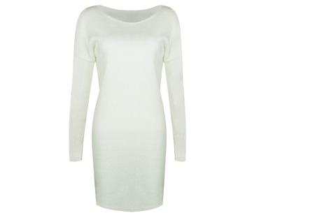 Stylish dress | Comfortabel en stijlvol in één Wit