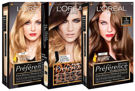 Dagaanbieding: 3-pack L'Oréal Préférence haarverf