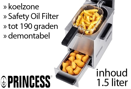 Frituurpan 1 5 liter