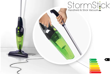 Dagaanbieding: TurboTronic StormStick handstofzuiger