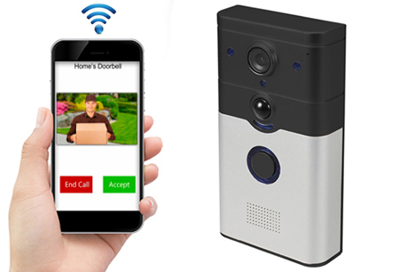 Deurbel Voor Iphone.Smart Wifi Deurbel Met Camera
