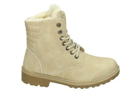 Gevoerde schoenen sale | Elke werkdag lagere prijzen, maar wees op tijd | OP=OP ZY9099 - Beige