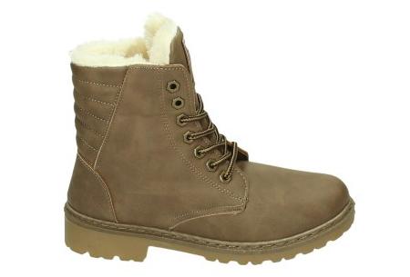 Gevoerde schoenen sale | Elke werkdag lagere prijzen, maar wees op tijd | OP=OP ZY9099 - Khaki