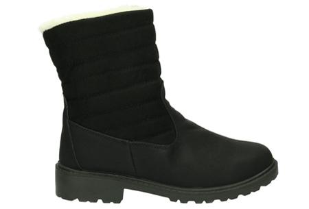 Gevoerde schoenen sale | Elke werkdag lagere prijzen, maar wees op tijd | OP=OP ZY9210 - Zwart
