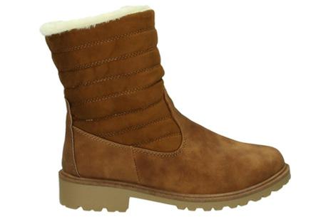 Gevoerde schoenen sale | Elke werkdag lagere prijzen, maar wees op tijd | OP=OP ZY9210 - Camel