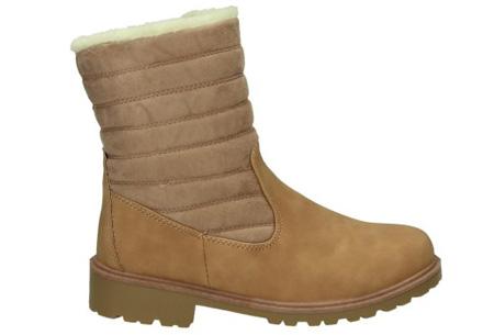 Gevoerde schoenen sale | Elke werkdag lagere prijzen, maar wees op tijd | OP=OP ZY9210 - Zandbruin