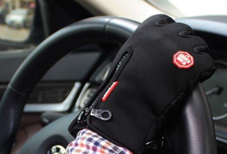 Tech fleece handschoenen | Bedien je smartphone met handschoenen aan tijdens de kou