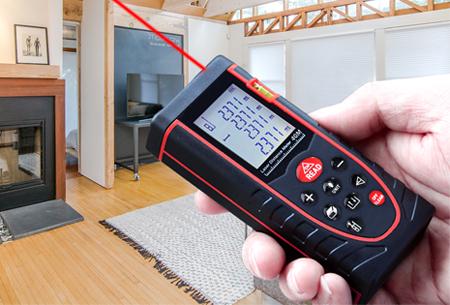 Dagaanbieding: Laser afstandsmeter nu met hoge korting