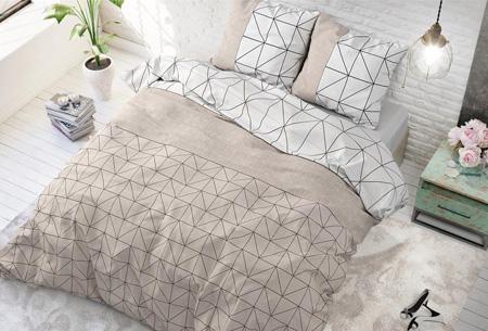 Luxe dekbedovertrekken | Keuze uit 11 prachtige prints Gino taupe