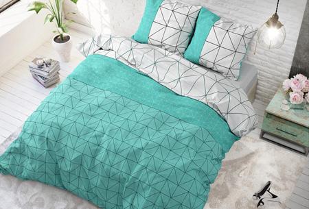 Luxe dekbedovertrekken | Keuze uit 11 prachtige prints Gino turquoise