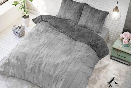 Luxe dekbedovertrekken | Keuze uit 11 prachtige prints Wood fresh grey