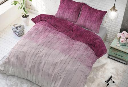 Luxe dekbedovertrekken | Keuze uit 11 prachtige prints Wood fresh pink