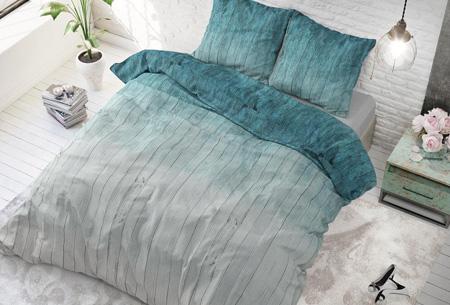 Luxe dekbedovertrekken | Keuze uit 11 prachtige prints Wood fresh turquoise