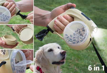 Dagaanbieding: 6-in-1 intrekbare hondenriem nu met enorme korting
