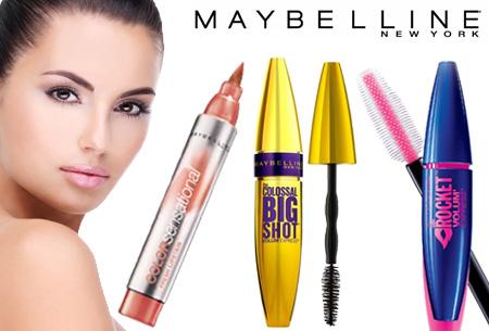 Dagaanbieding: Maybelline mascara's nu in de aanbieding