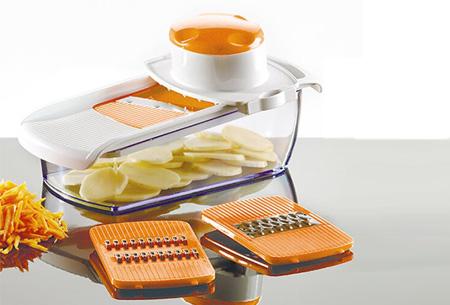 Maestro Multipurpose Dicer de luxe Oranje