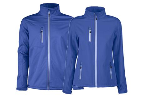Softshell jassen | Winddichte, waterafstotende jas voor dame en heer marine