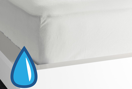 Waterdicht molton hoeslaken | Keuze uit hoeslaken voor matras, topper of kussensloop Matras