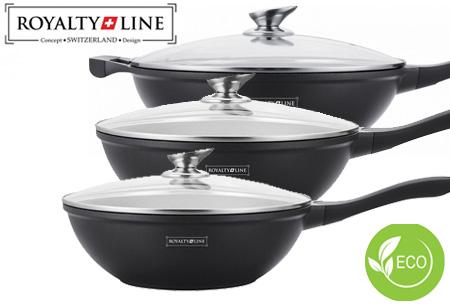 Dagaanbieding: Royalty Line wokpannen
