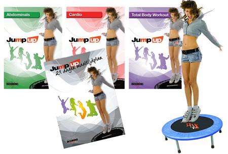 Dagaanbieding: Trampoline Booming Fitness Jump Up met korting