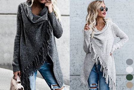 Dagaanbieding: Knitted Tassel vest