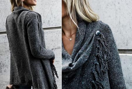Knitted Tassel vest   Dé musthave die je keer op keer weer uit de kast trekt