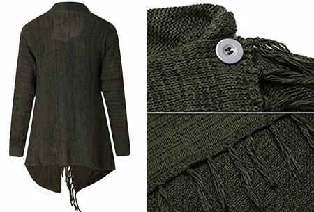 Knitted Tassel vest | Dé musthave die je keer op keer weer uit de kast trekt