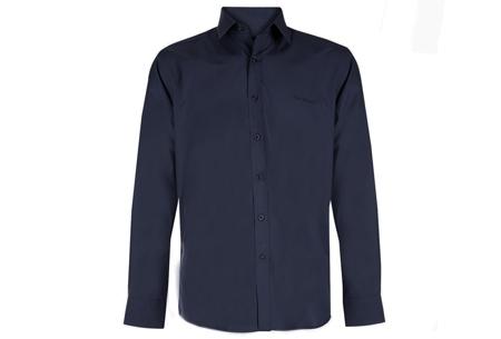 Pierre Cardin overhemden Maat L - Navy