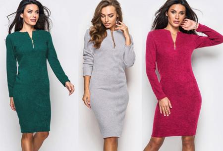 Dagaanbieding: Zipper jurk nu met torenhoge korting