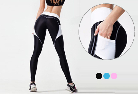 Heart shaped sportlegging