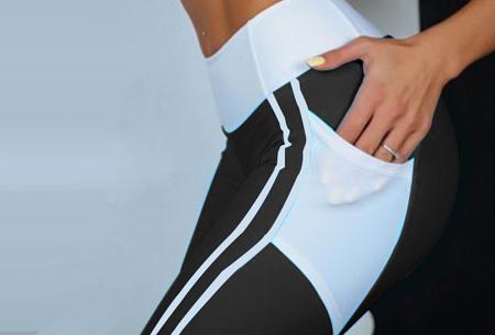 Heart shaped sportlegging | Liftend effect & handige steekzakken