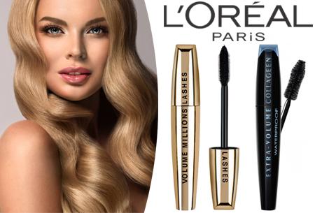 Dagaanbieding: L'Oréal Paris mascara's met 50% veel korting