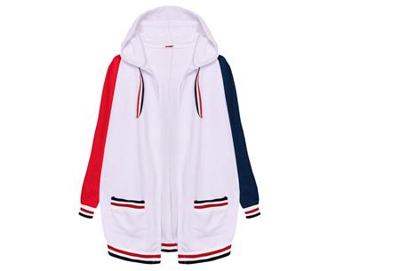 Duocolor dames vest | Kleurrijk vest voor in jouw garderobe  Wit