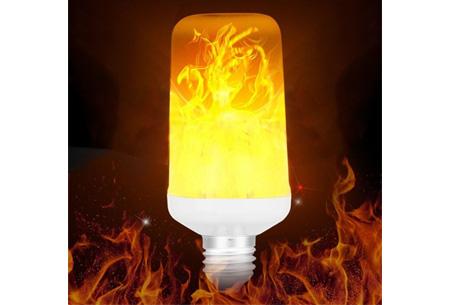 LED lamp met vuursimulatie | Voor een gezellige en knusse sfeer