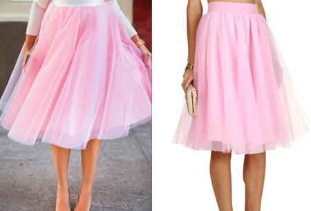 Petticoat rok | Doe mee met de nieuwe fashion trend!  Roze