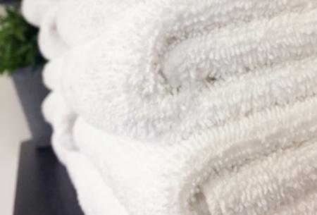 3-pack handdoeken of badhanddoeken 100% katoen hotelkwaliteit | Met oplopende korting!