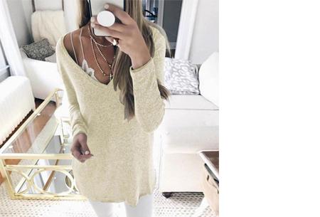 Spring sweater | Basic musthave voor een hippe voorjaarslook! beige