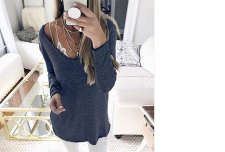 Spring sweater | Basic musthave voor een hippe voorjaarslook! navy