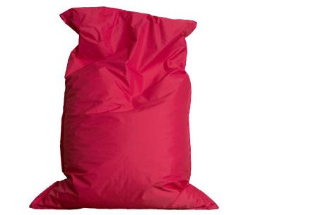 Drop & Sit zitzak | Keuze uit 18 kleuren & 2 formaten - nu extra voordelig! Fuchsia
