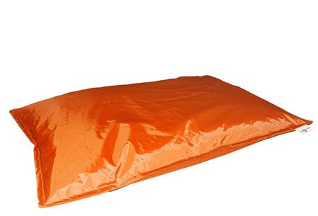 Drop & Sit zitzak | Keuze uit 18 kleuren & 2 formaten - nu extra voordelig! Oranje