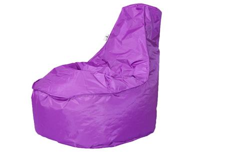 Drop & Sit NOA zitzak stoel | Keuze uit 2 formaten en 18 kleuren Paars