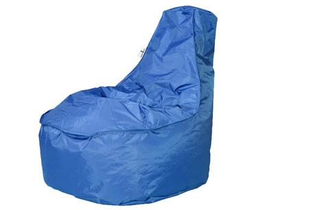 Drop & Sit NOA zitzak stoel | Keuze uit 2 formaten en 18 kleuren Kobalt